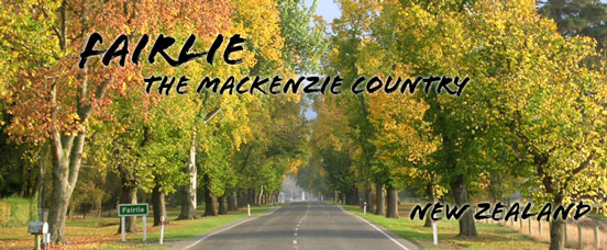 Fairlie - The Mackenzie Country. New Zealand